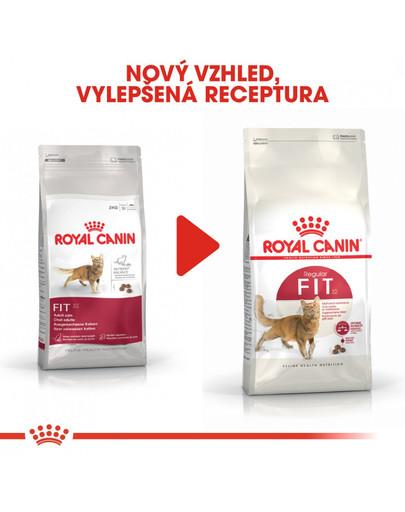ROYAL CANIN Fit 10 kg granule pro správnou kondici koček
