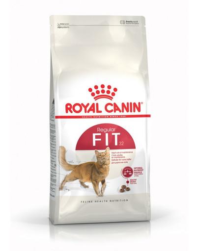 ROYAL CANIN Fit 2 kg granule pro správnou kondici koček