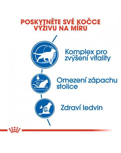 ROYAL CANIN Indoor 7+ 1.5 kg granule pro stárnoucí kočky žijící uvnitř