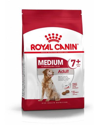 ROYAL CANIN Medium adult 7+ 15 kg granule pro dospělé stárnoucí střední psy