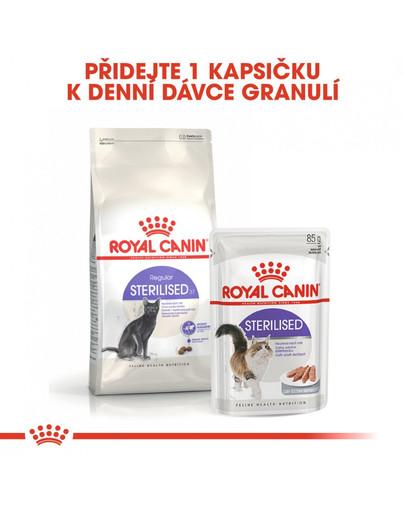 ROYAL CANIN Sterilised 4kg granule pro kastrované kočky