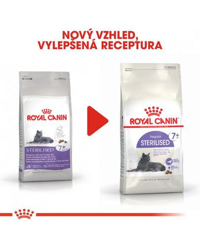 ROYAL CANIN Sterilised 7+  3.5kg granule pro stárnoucí kastrované kočky