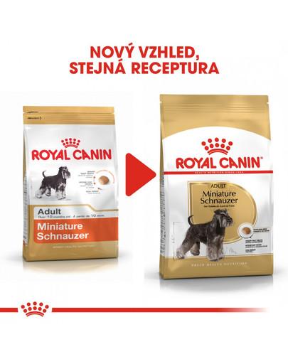ROYAL CANIN Schnauzer Adult 3 kg granule pro dospělého knírače