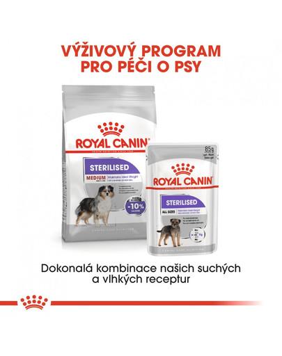 ROYAL CANIN Medium Sterilised 3 kg granule pro kastrované střední psy