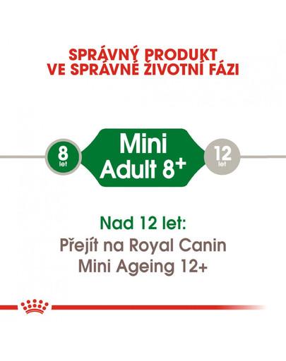 ROYAL CANIN Mini Adult 8+ 2kg granule pro stárnoucí malé psy