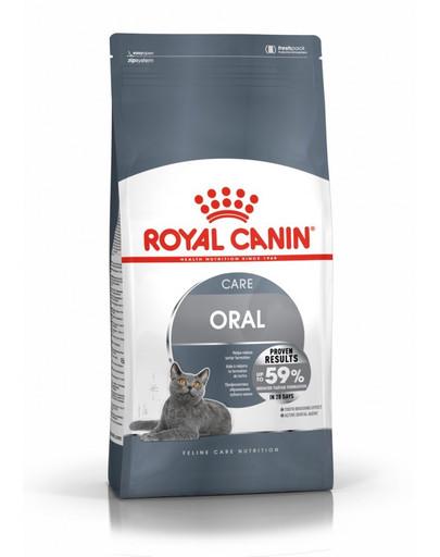 ROYAL CANIN Oral Care 8 kg granule pro kočky snižující tvorbu zubního kamene