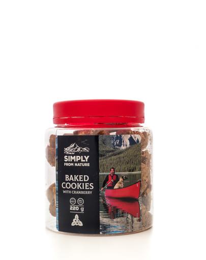 SIMPLY FROM NATURE  Brusinkové sušenky pro psy 220 g