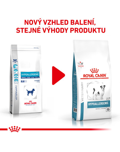 ROYAL CANIN Veterinary Health Nutrition Hypoallergenic Small Dogs 3.5 kg