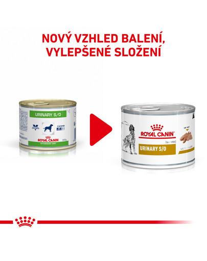 ROYAL CANIN Veterinary Health Nutrition Dog Urinary S/O Konzerva 200 g