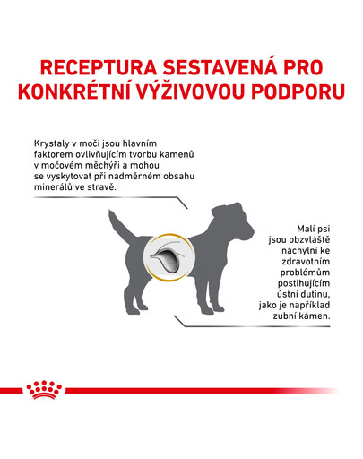 ROYAL CANIN Veterinary Health Nutrition Dog Urinary S/O Small Dog 8 kg