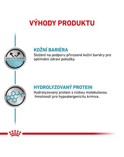 ROYAL CANIN Veterinary Health Nutrition Dog Hypoallergenic konzerva 200g
