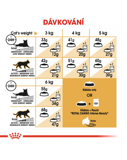 ROYAL CANIN Siamese Adult 2kg granule pro siamské kočky