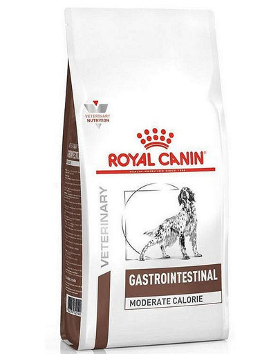 ROYAL CANIN Veterinary Diet Dog Gastrointestinal Moderate Calorie 2 kg