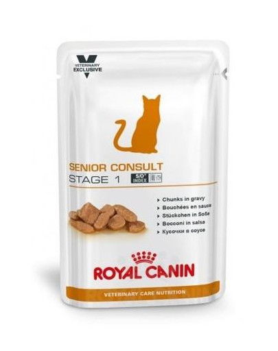 ROYAL CANIN Cat Senior Consult Stage 1 12 x 100 g