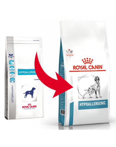ROYAL CANIN Veterinary Health Nutrition Dog Hypoallergenic 7 kg