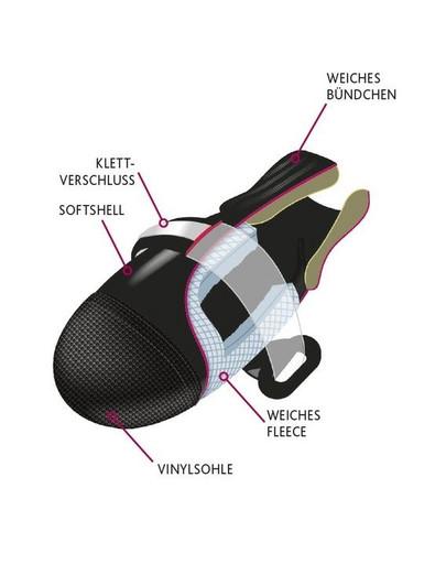 TRIXIE Botička ochranná Walker Comfort kůže/nylon XS 2 ks