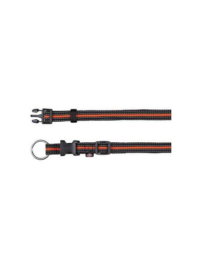 "TRIXIE Obojek ""Fusion obojek"" 40 – 65 cm / 25 mm černý - oranžový"