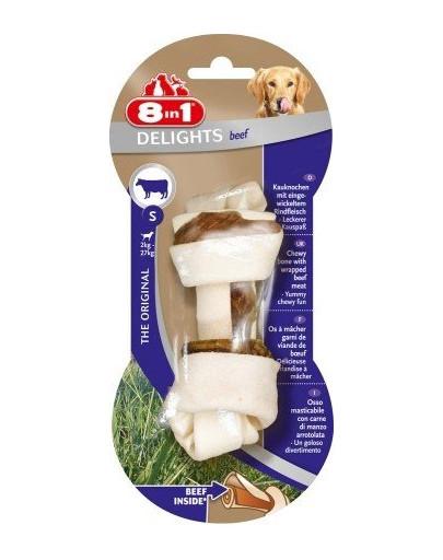 8IN1 Kost žvýkací Delights Beef S 1ks