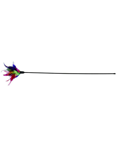 TRIXIE Vábnička s barevném peřím 50 cm