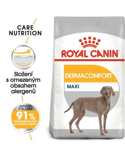 ROYAL CANIN Maxi Dermacomfort 3 kg granule pro velké psy s problémy s kůží