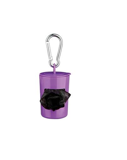 TRIXIE Pouzdro plast + sáčky na psí exkrement 2x20ks