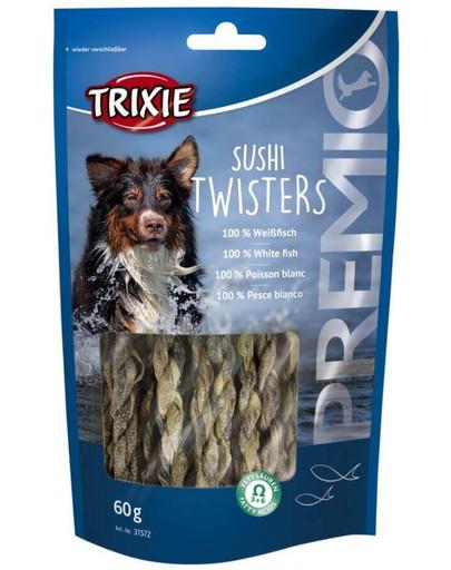 TRIXIE snack premio sushi twisters copánky 60 g