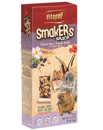 VITAPOL Smakers pro hlodavce-lesní ovoce