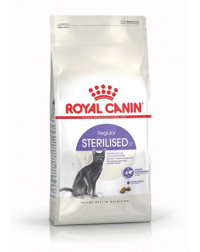 ROYAL CANIN Sterilised 10 kg + 2 kg granule pro kastrované kočky