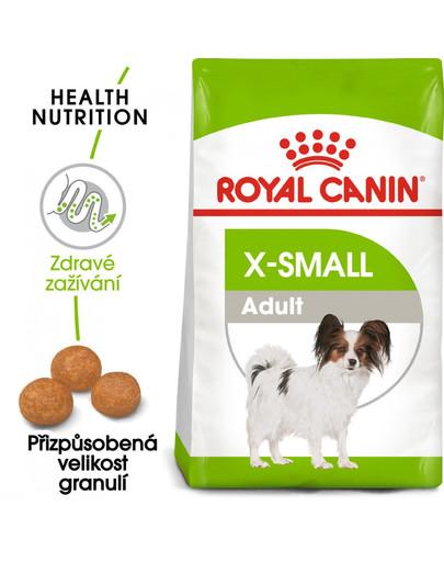 ROYAL CANIN X-Small adult 1.5 kg granule pro dospělé trpasličí psy