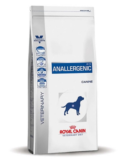 ROYAL CANIN Veterinary Health Nutrition Dog Anallergenic 8 kg