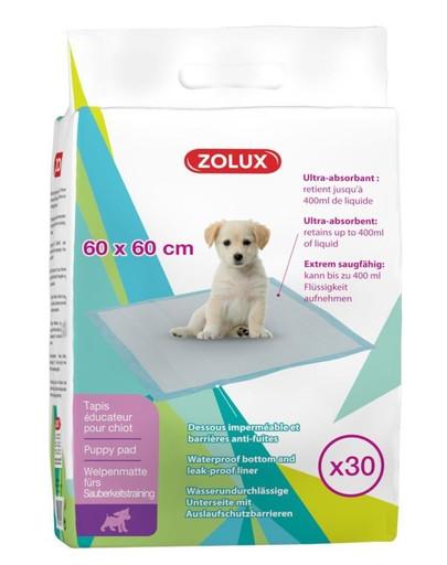 ZOLUX Podložka štěně 60x60cm ultra absorbent bal 30ks
