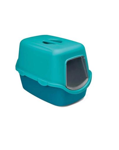 ZOLUX Toaleta pro kočky Cathy Filter - kočičí WC, tyrkysová