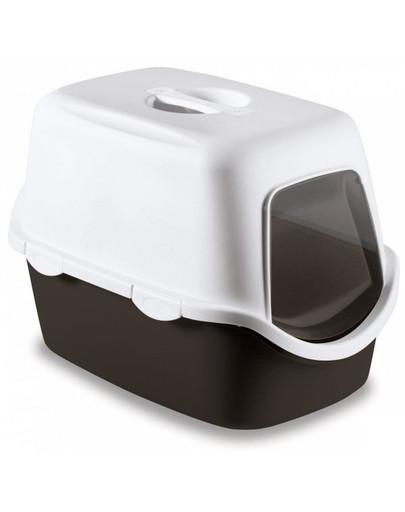 ZOLUX WC Cathy béžové kryté s filtrem 56x40x40cm