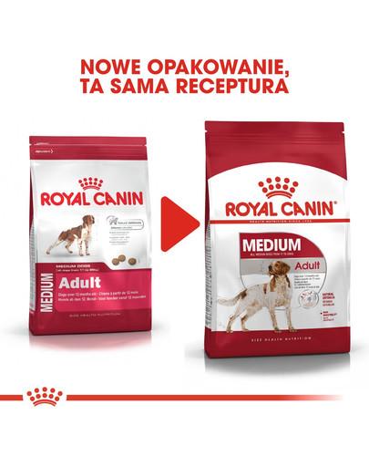 ROYAL CANIN Medium adult 10 kg granule pro dospělé střední psy