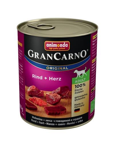 ANIMONDA GranCarno Adult hovězí & srdce 800 g