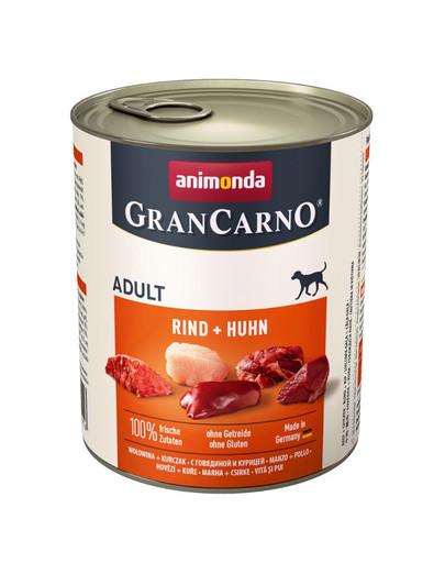 ANIMONDA GranCarno Adult Hovězí & kuře 800 g