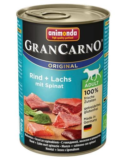 ANIMONDA Gran Carno Losos & Špenát 400 g