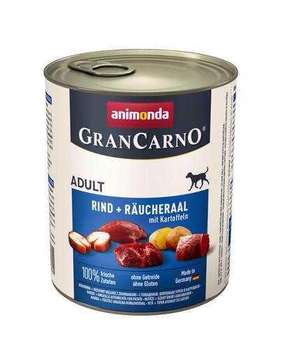 ANIMONDA GranCarno Adult úhoř & brambory 400 g