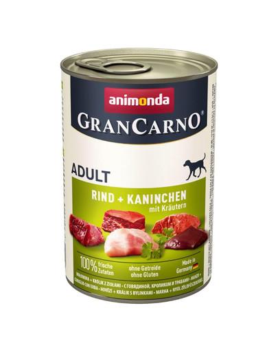ANIMONDA GranCarno Adult Králík & bylinky 400 g