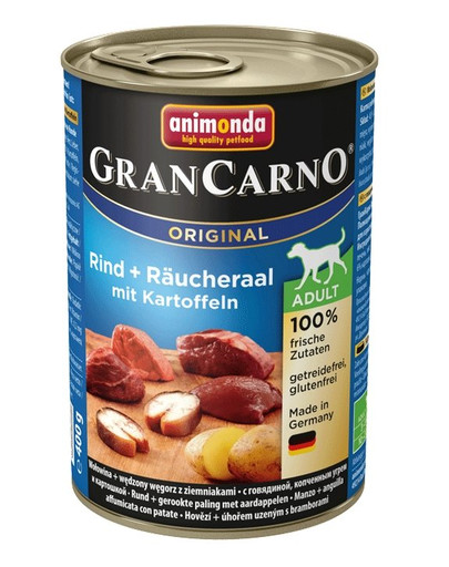 ANIMONDA GranCarno Adult úhoř & brambory 800 g