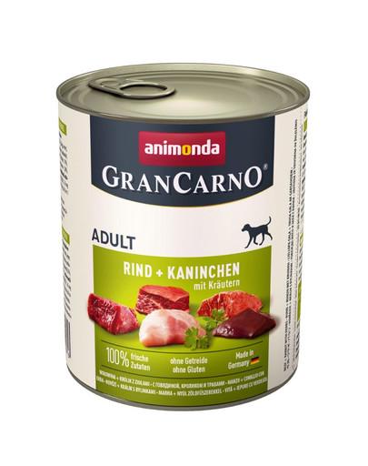 ANIMONDA Gran Carno Adult Králík & bylinky 800 g