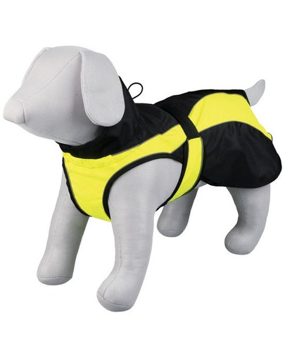 TRIXIE Obleček pro psy safety. m: 50 cm. černo/žlutý