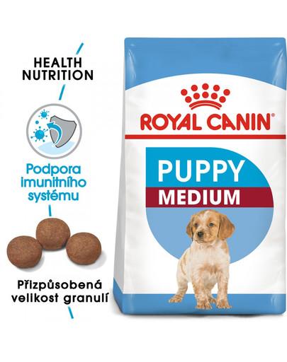 ROYAL CANIN Medium Puppy 10 kg granule pro střední štěňata