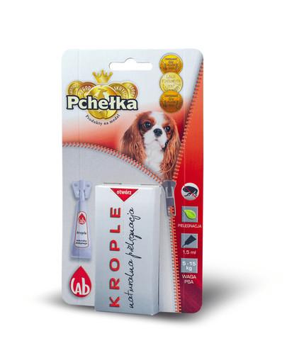 PCHELKA Bio kapky pro psy 5-15 kg 1.5 ml