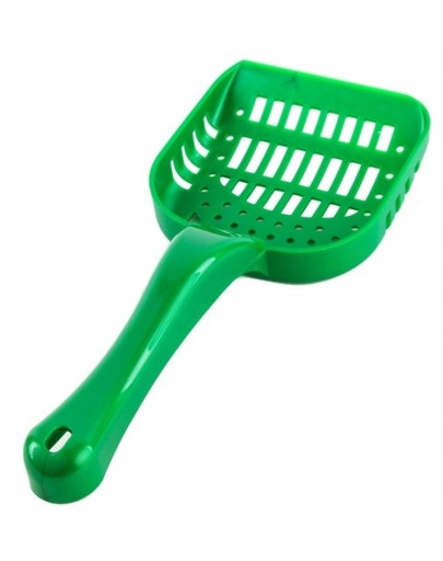 JRS Cat's Best Lopatka do toalety zelená