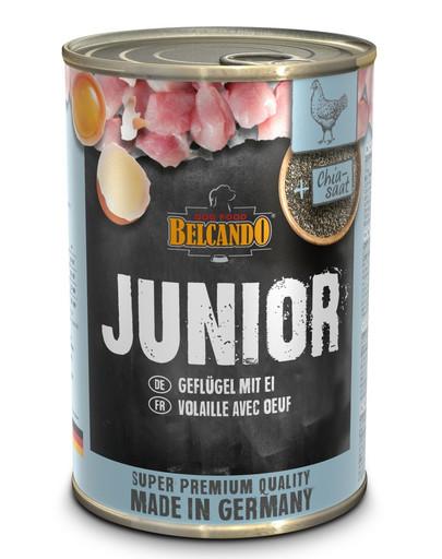 BELCANDO Junior Drůbeží a vejce 400 g