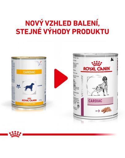 ROYAL CANIN Veterinary Diet Dog Cardiac Can 410 g