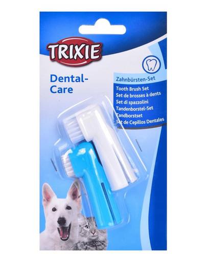 TRIXIE Zubní kartáček na prst 2ks