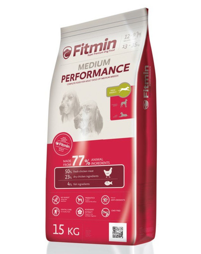 FITMIN Medium performance 15 kg + 3 kg ZDARMA