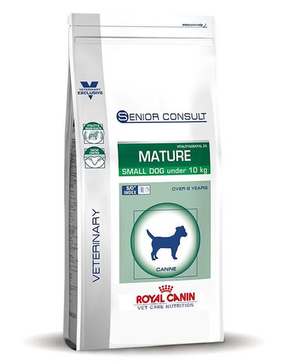 ROYAL CANIN Veterinary Care Dog Senior Consult Mature Small 1,5kg